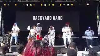 Backyard Band NYC 8-27-2016