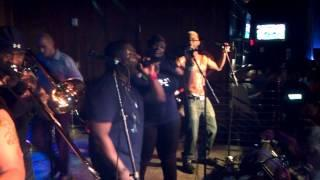 Let It Flow Band at CIAA 2013 Rocking Whisky River